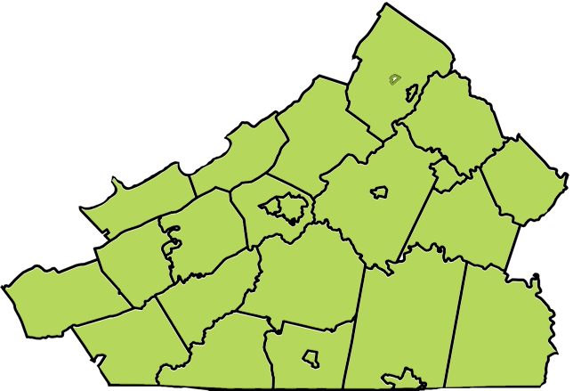 Counties of Virginia